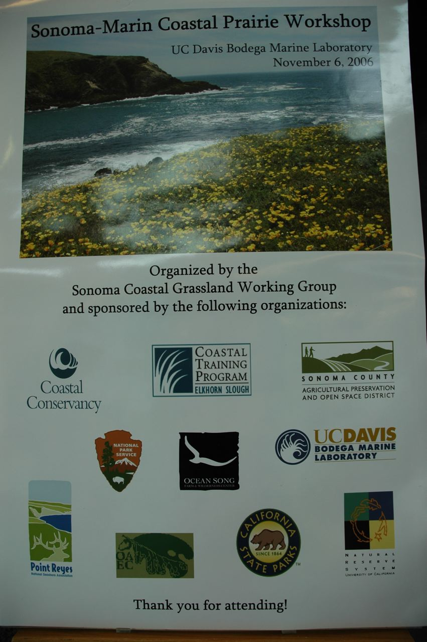 Identifying Conservation and Research Priorities for Coastal Prairie in Sonoma and Marin Counties program image